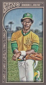 2015 GQ Mini Var 190 Rickey Henderson