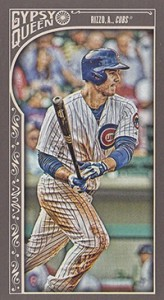 2015 GQ Mini Var 97 Anthony Rizzo
