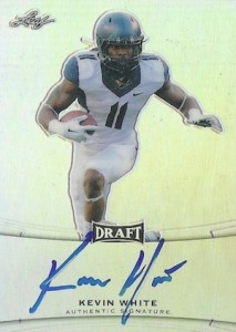 2015 Leaf Metal Draft Base Autograph Kevin White