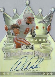 2015 Leaf Metal Draft Touchdown Kings Autograph Ameer Abdullah