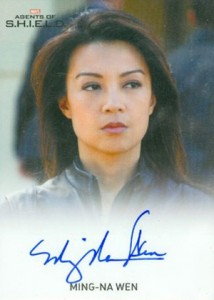 2015 Rittenhouse Marvel Agents of SHIELD Season 1 Autographs Gallery 10