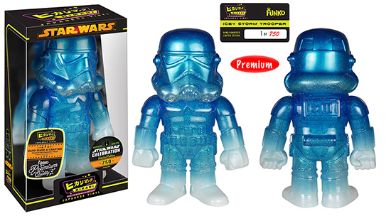 2015 Star Wars Celebration Funko Icy Stormtrooper Hikari