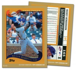 2015 Topps Cardboard Icons Baseball Cards 8