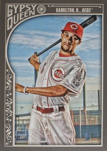 2015 Topps GQ 105 Billy Hamilton