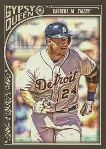 2015 Topps GQ 149 Miguel Cabrera