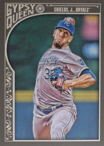 2015 Topps GQ 179 James Shields