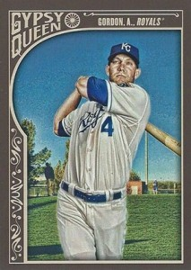 2015 Topps GQ 194 Alex Gordon