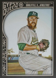 2015 Topps GQ 209 Sean Doolittle