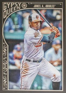 2015 Topps GQ 23 Adam Jones