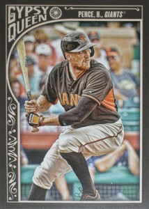 2015 Topps GQ 261 Hunter Pence