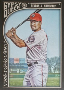 2015 Topps GQ 51 Anthony Rendon