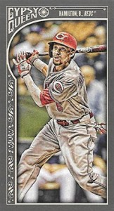 2015 Topps GQ Mini Var 105 Billy Hamilton