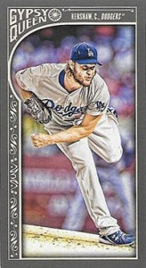2015 Topps GQ Mini Var 119 Clayton Kershaw