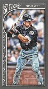 2015 Topps GQ Mini Var 124 Mike Piazza