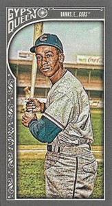 2015 Topps GQ Mini Var 133 Ernie Banks