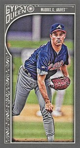 2015 Topps GQ Mini Var 138 Greg Maddux