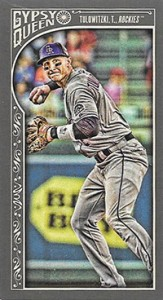 2015 Topps GQ Mini Var 155 Troy Tulowitzki
