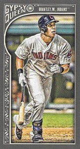 2015 Topps GQ Mini Var 165 Michael Brantley