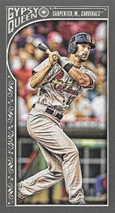 2015 Topps GQ Mini Var 25 Matt Carpenter