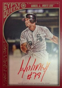 2015 Topps Gypsy Queen Baseball Cards 24