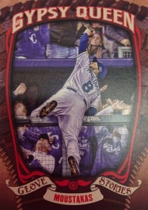 2015 Topps Gypsy Queen Baseball Glove Stories