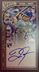 2015 Topps Gypsy Queen Baseball Cards 25
