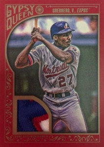 2015 Topps Gypsy Queen Baseball Red Patch Relic