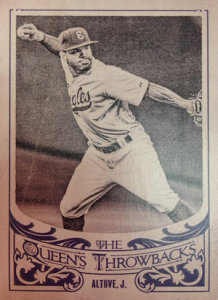 2015 Topps Gypsy Queen Baseball The Queen's Throwbacks