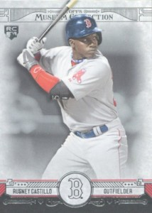 2015 Topps Museum Collection Baseball Base Rusney Castillo RC