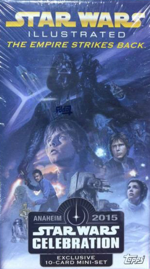 2015 Topps Star Wars Celebration Empire Strikes Back Illustrated Promo Set 3
