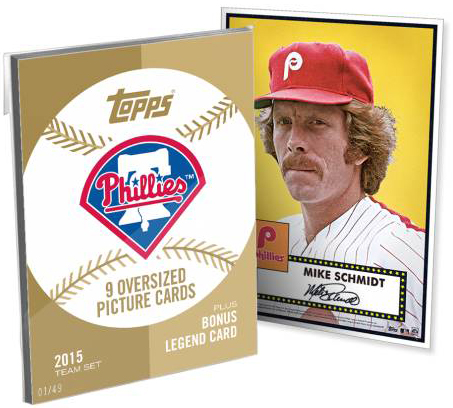 2015 Topps Tribute 52 Gold Team Set Phillies