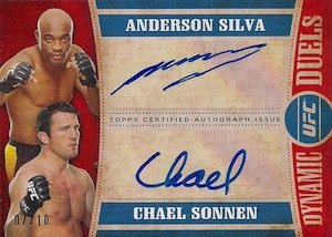 2015 Topps UFC Knockout Trading Cards 23