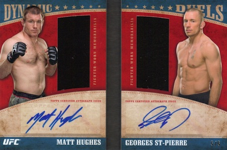 2015 Topps UFC Knockout Trading Cards 25