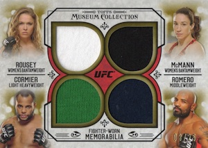 2015 Topps UFC Knockout Trading Cards 32