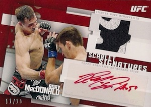 2015 Topps UFC Knockout Trading Cards 35
