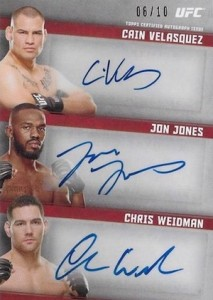 2015 Topps UFC Knockout Trading Cards 38