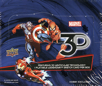 2015 Upper Deck Marvel 3D Trading Cards 1