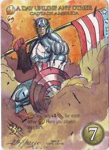 2015 Upper Deck Marvel 3D Trading Cards 25