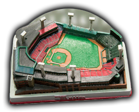 Replica Fenway Park Giveaway at Boston Red Sox Game 1