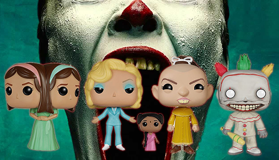 2015 Funko Pop American Horror Story: Freak Show Vinyl Figures 1