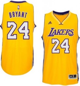 Kobe Bryant Los Angeles Lakers 2014-15 jersey