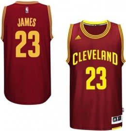 The King Reigns Supreme! Top Selling 2014-15 NBA Jerseys 1