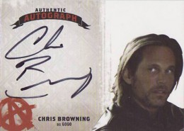 Sons of Anarchy Seasons 4 and 5 Autographs Guide 2