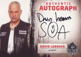 Sons of Anarchy S45 Auto David Labrava 1-3