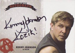Sons of Anarchy S45 Auto Kenny Johnson
