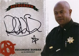 Sons of Anarchy S45 Auto Rockmond Dunbar