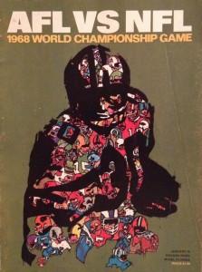 Super Bowl II - 1968 Program