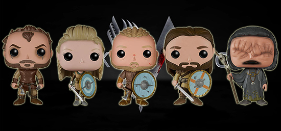 2015 Funko Pop Vikings Vinyl Figures 1