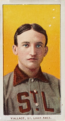 1909-11 T206 White Borders Baseball Bobby Wallace