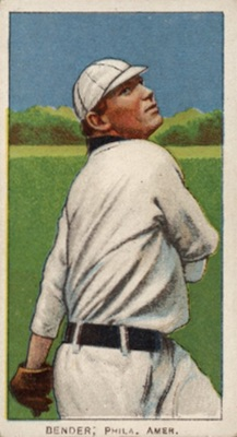1909-11 T206 White Borders Baseball Chief Bender